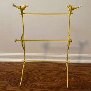 Sundance Catalog Jewelry Stand -  Yellow Birds